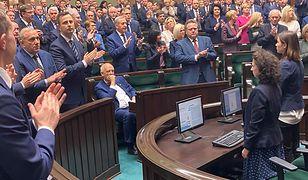 Władimir Putin i spór z Polską. Posłowie wstali z miejsc, Janusz Korwin-Mikke nie
