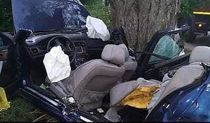 Warmińsko-mazurskie: tragiczny wypadek w gminie Łukta. Nie żyją dwie osoby