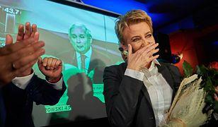 """W Łodzi Hanna Zdanowska rzuciła PiS na łopatki zdobywając ponad 70 proc. głosów. """"Wszędzie tam, gdzie dano wyborcom głosować na konkretne osoby, tam gdzie znali ich twarze, tam szanse Koalicji Obywatelskiej rosły wielokrotnie""""."""