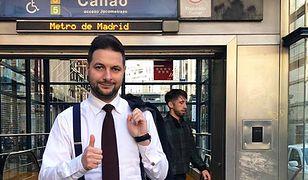 Patryk Jaki w Madrycie. Spotyka się ze specjalistami od budowy metra