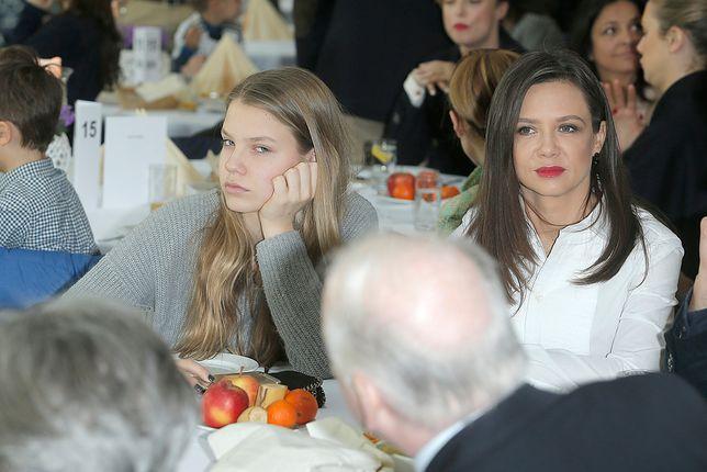 """Kinga Rusin o karierze córki: """"są rzeczy ważne i ważniejsze"""""""