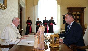 Audiencja u papieża odbyła się 15 października 2018 r. o godz. 10:00.