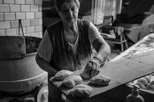 Zofia Kobus - właścicielka piekarni w Garwolinie