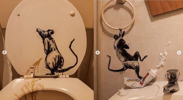 Banksy prezentuje najnowsze dzieło na Instagramie