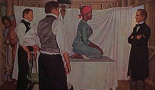 J. Marion Sims ze swoją niewolnicą