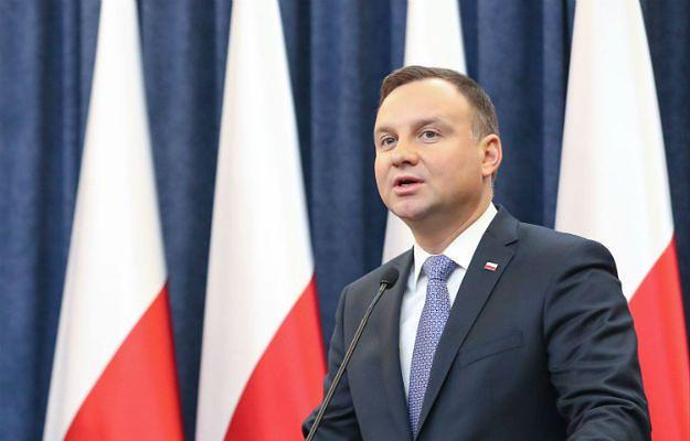 Prezydent Andrzej Duda odebrał ślubowanie od nowego sędziego TK Grzegorza Jędrejka