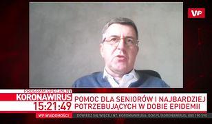 """Marek Borowski: """"Banki Żywności pracują na pełnych obrotach"""""""