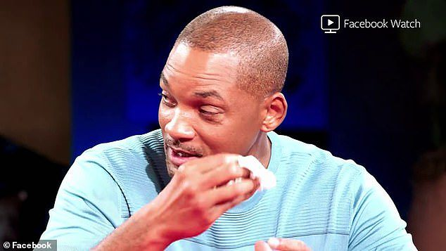 Will Smith popłakał się na wizji