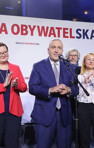 Wyniki wyborów 2019 (exit poll). Grzegorz Schetyna: nie było równych zasad, nie mieliśmy poczucia, że braliśmy udział w uczciwej walce
