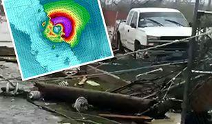 Huragan Dorian demoluje Bahamy. Służby informują o katastrofalnych zniszczeniach
