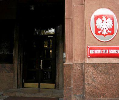 Siedziba MSZ przy al. Szucha w Warszawie