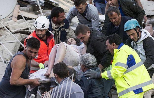 Silne trzęsienie ziemi we Włoszech. Rośnie liczba ofiar