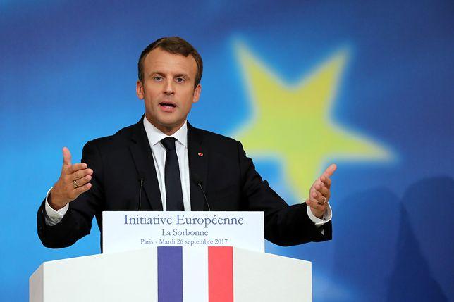 Wspólna armia UE? Macron chce też innych instytucji dla całej Europy
