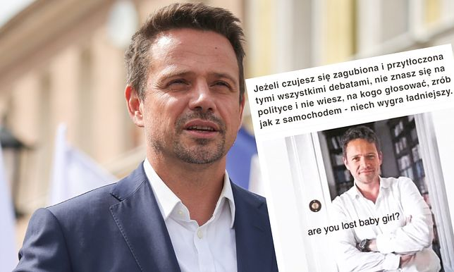 W sieci krążą memy odwołujące się do wyglądu Rafała Trzaskowskiego