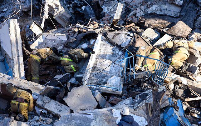 Rosja: Wybuch gazu w bloku. Pod gruzami znajdują się ludzie