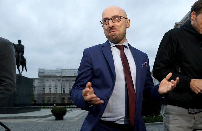 Krzysztof Łapiński odchodząc z Pałacu Prezydenckiego, pożegnał się z polityką