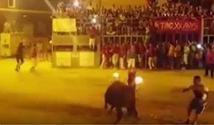 Samobójstwo byka w Fois