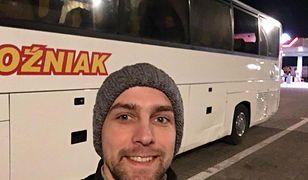 Tym autobusem przyjechałem z Radomia do Warszawy. Moimi towarzyszami podróży byli działacze i sympatycy PiS.