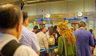 Kobieta miała problemy na lotnisku w Madrycie
