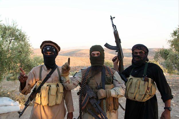 Bojownicy ISIS w Syrii