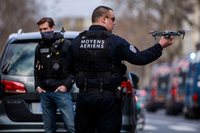 Francja. Policja postrzeliła nożownika w mieście Metz na wschodzie kraju