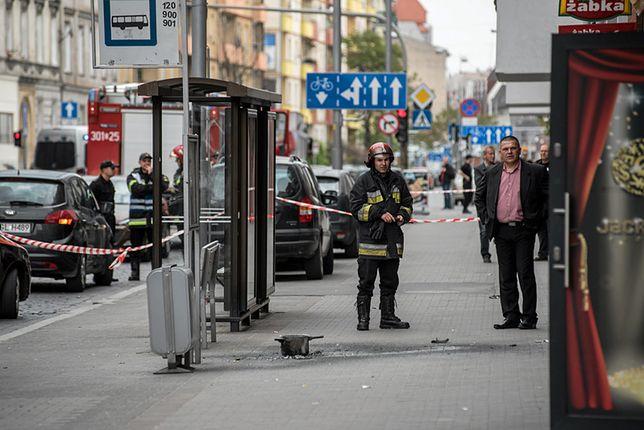 Przystanek, na którym doszło do wybuchu
