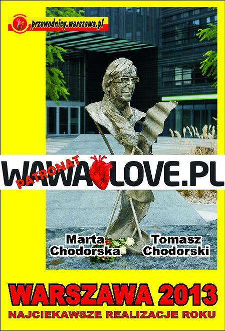 """Nasz patronat: """"Warszawa 2013. Najciekawsze realizacje roku"""""""