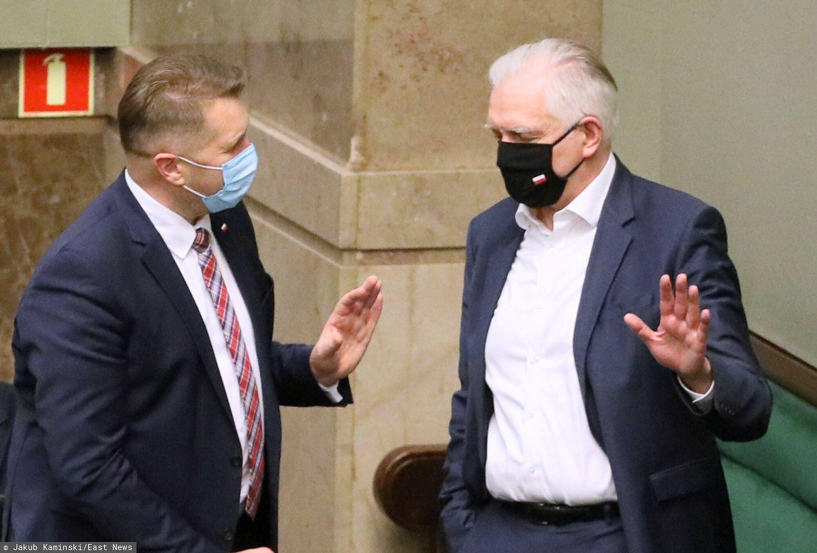 Porozumienie broniło Czarnka razem z PiS. Wróciło słynne powiedzenie