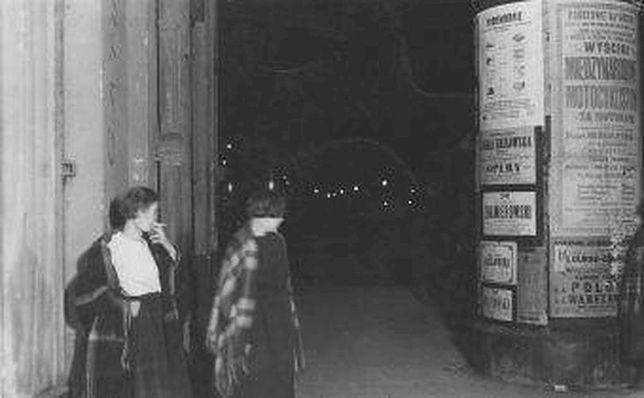 Prostytutki na ulicach Warszawy