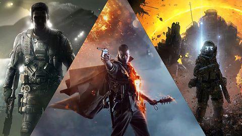 Starcie Tytanów: CoD: Infinite Warfare, Battlefield 1, Titanfall 2