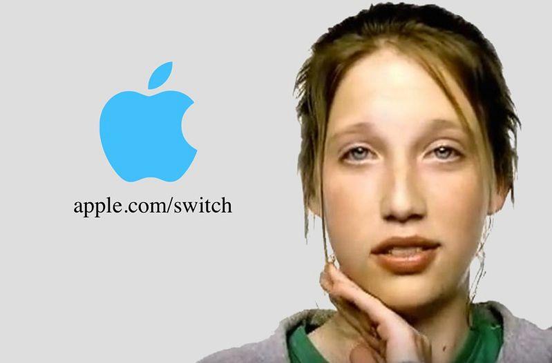Switch — kampania, która wypromowała Ellen Feiss - Specjalnie na potrzeby DP, inne tło.