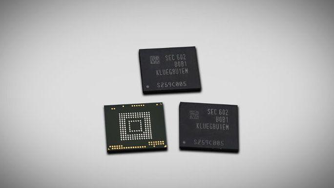 Nowe pamięci Samsunga dla smartfonów szybsze od dysków SSD