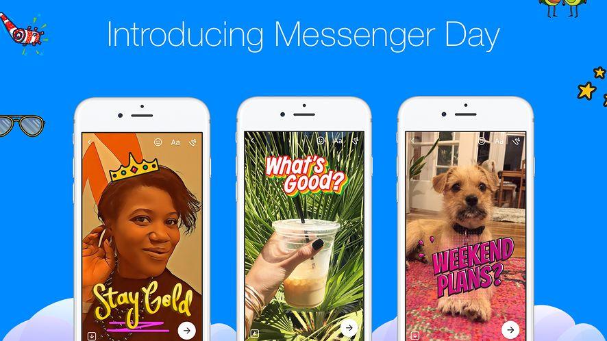 Po testach w Polsce, Messenger Day dostępny już na całym świecie