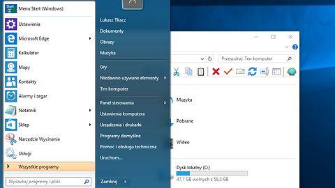 Menu Start z Windows 10 nie odpowiada? Skorzystaj z Classic Shell