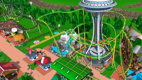 RollerCoaster Tycoon Touch: wesołe miasteczko wymaga… kupowania kart