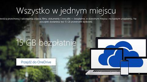 OneDrive ponownie rozdaje dodatkową pojemność. Tym razem 12 GB