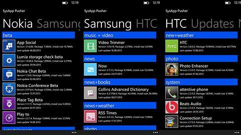 SysApp Pusher pomoże zaktualizować oprogramowanie OEM w Windows Phone