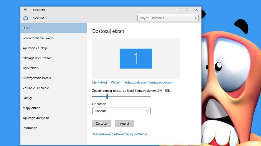 Niewyraźny tekst, rozmyte okna? Poprawiamy skalowanie w Windows 10
