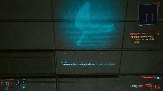 Roy Batty w Cyberpunk 2077