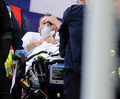 """""""Niestety"""". Ekspert mówi, co stanie się z Eriksenem po dramacie na Euro2020"""