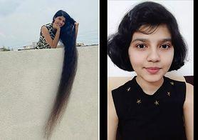 Miała najdłuższe włosy na świecie. Obcięła je i podarowała chorym na raka