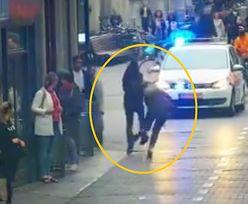"""Pomogła policji złapać uciekiniera. """"Wykazała się niezwykłą odwagą"""""""