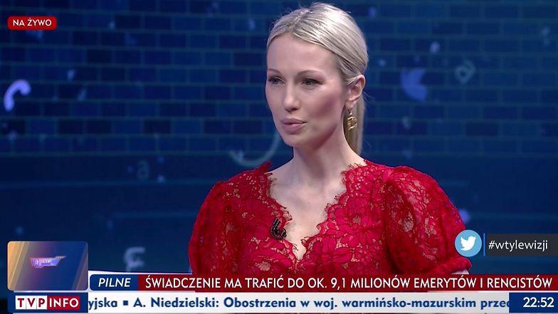 Kpiny z wyglądu polityka w TVP Info. W roli głównej: Magda Ogórek