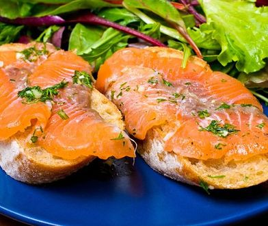 Gotowanie na ekranie: panini z łososiem a'la gravlax