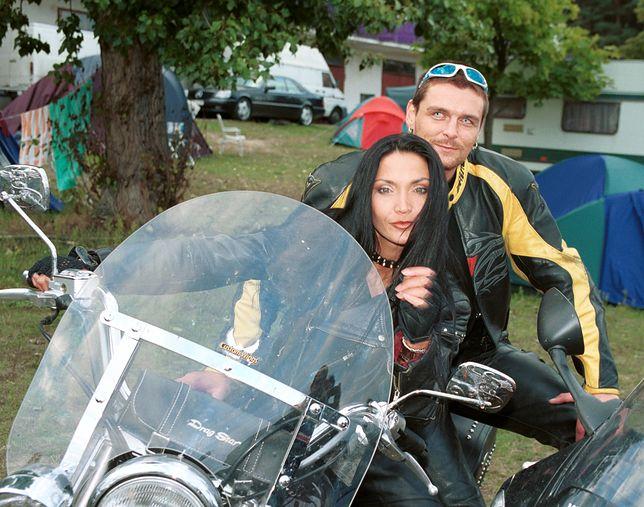 Alicja Walczak i Piotr Gulczyński w 2001 roku