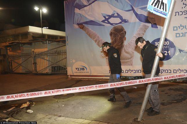 Izrael. Kierowca wjechał w grupę pieszych w Jerozolimie