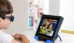 Ekran wyprodukowany przez firmę NovaSight, pomoże leczyć amblyopię.