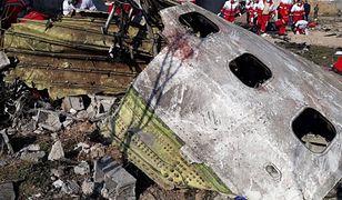 W katastrofie boeinga zginęło 176 osób