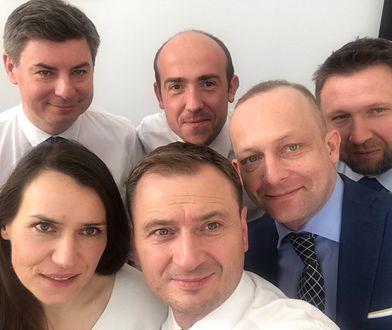 Sławomir Nitras opublikował na Twitterze zdjęcie z politykami