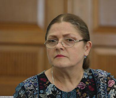 Krystyna Pawłowicz jest krytykowana za swój wpis o Małgorzacie Kidawie-Błońskiej